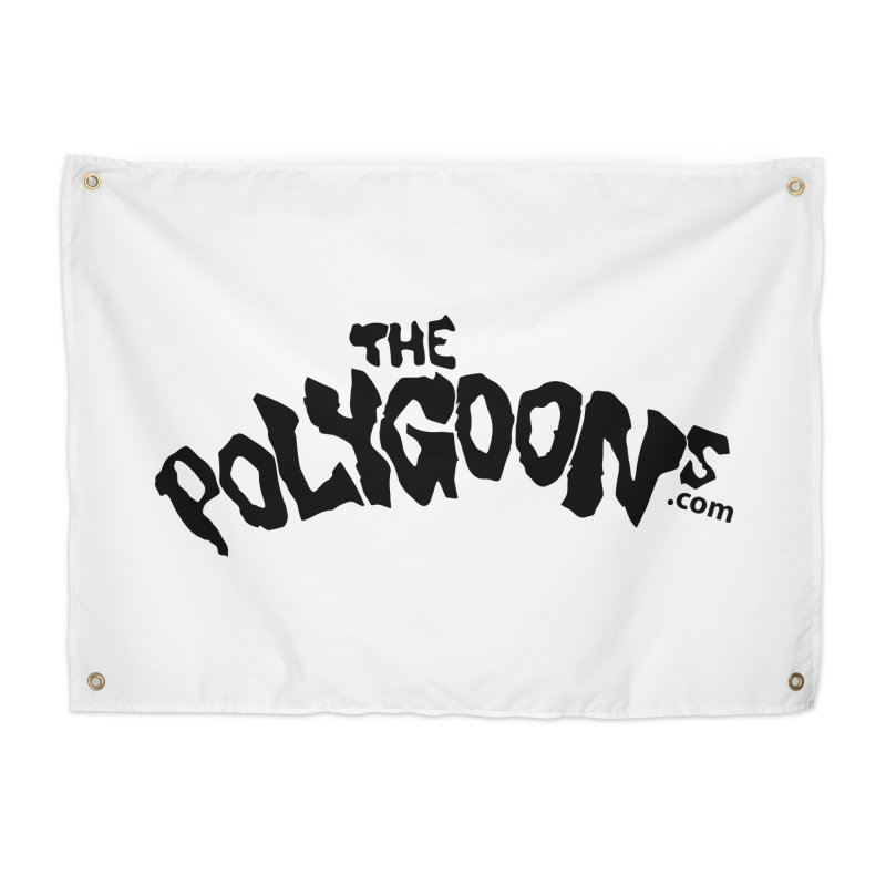 The Polygoons Logo Home Tapestry by The Polygoons' Shop