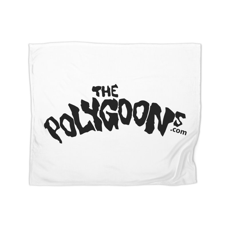 The Polygoons Logo Home Fleece Blanket Blanket by The Polygoons' Shop