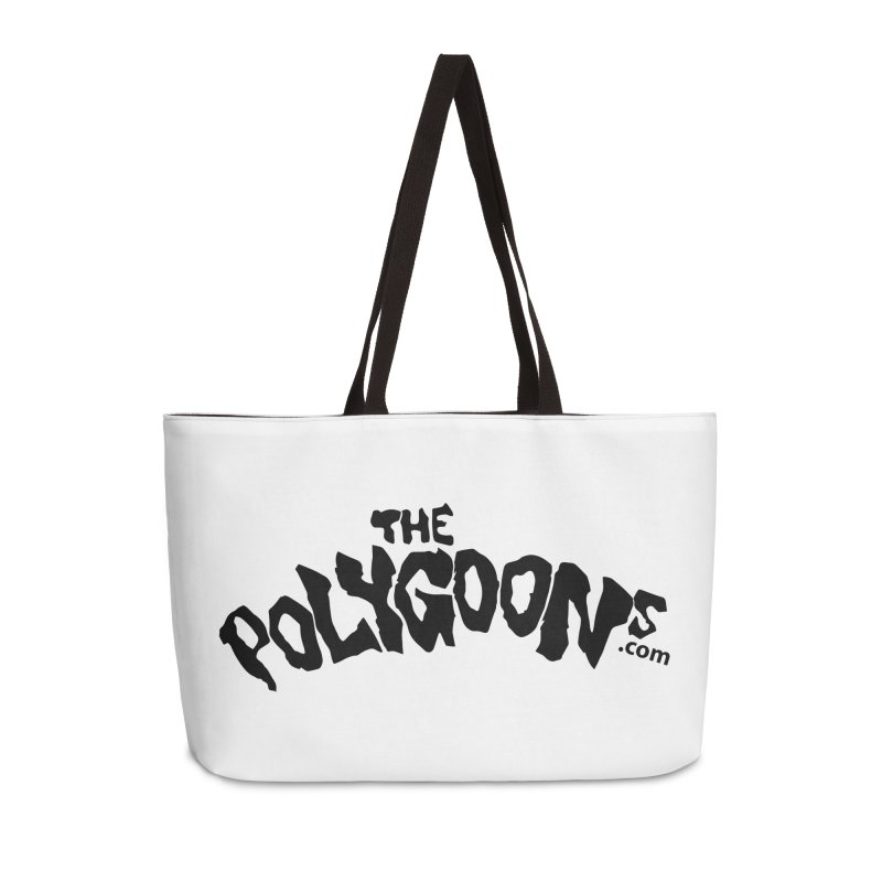 The Polygoons Logo Accessories Weekender Bag Bag by The Polygoons' Shop