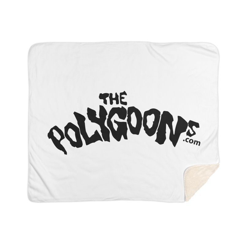 The Polygoons Logo Home Sherpa Blanket Blanket by The Polygoons' Shop