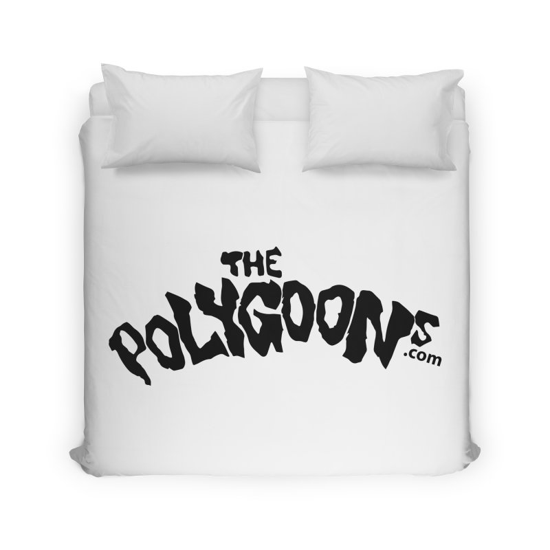 The Polygoons Logo Home Duvet by The Polygoons' Shop
