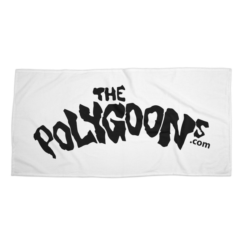 The Polygoons Logo Accessories Beach Towel by The Polygoons' Shop