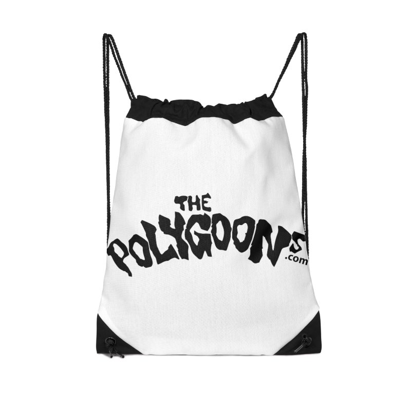 The Polygoons Logo Accessories Drawstring Bag Bag by The Polygoons' Shop