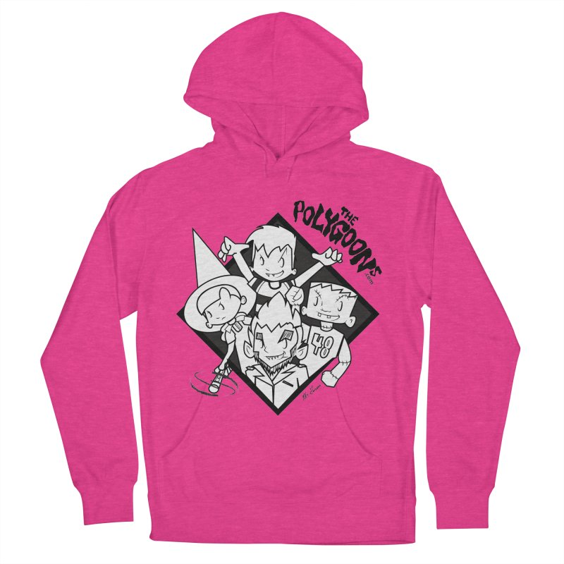 The Polygoons (Group) Women's French Terry Pullover Hoody by The Polygoons' Shop