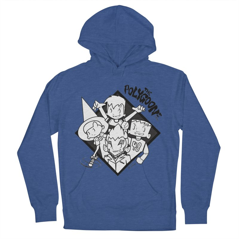 The Polygoons (Group) Men's French Terry Pullover Hoody by The Polygoons' Shop