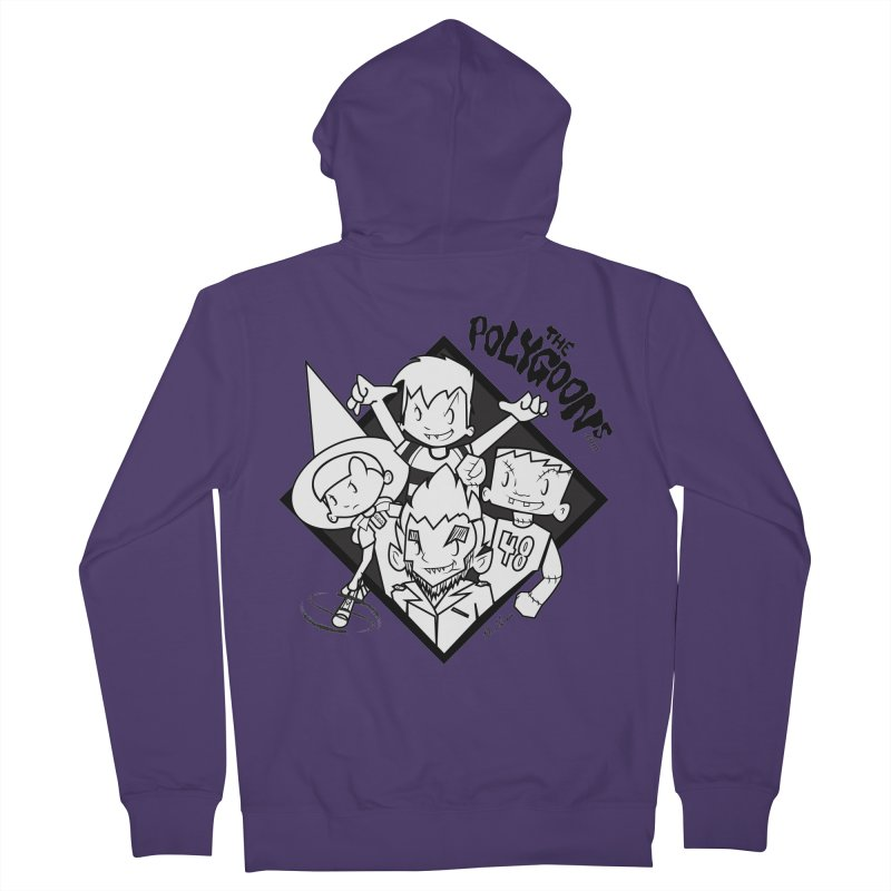 The Polygoons (Group) Women's French Terry Zip-Up Hoody by The Polygoons' Shop