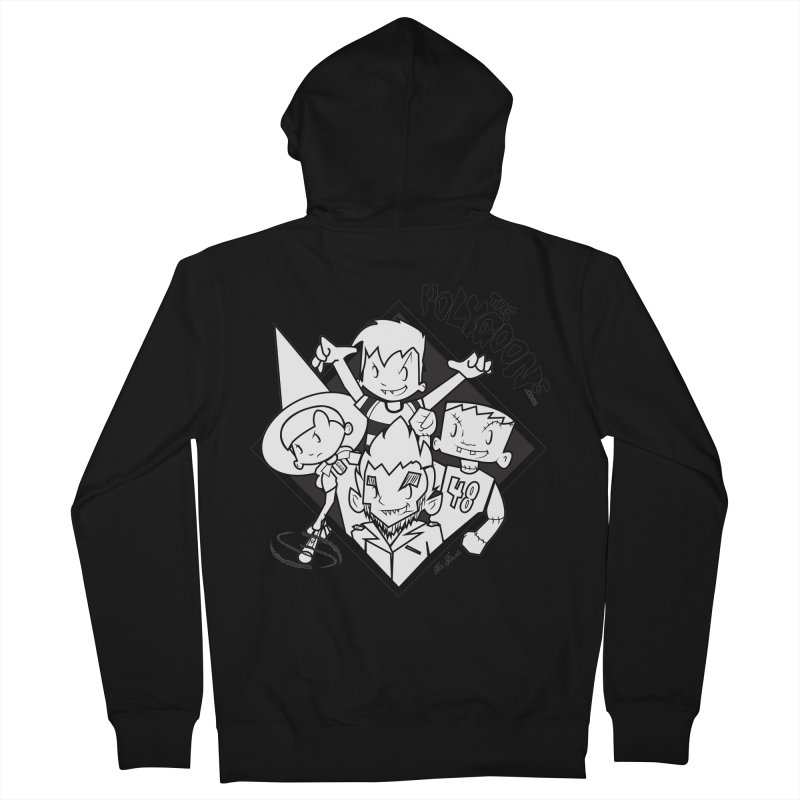 The Polygoons (Group) Men's French Terry Zip-Up Hoody by The Polygoons' Shop