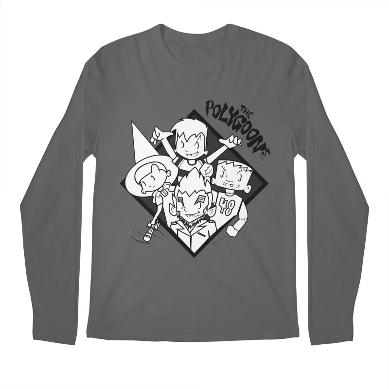 The Polygoons (Group) Men's Longsleeve T-Shirt by The Polygoons' Shop
