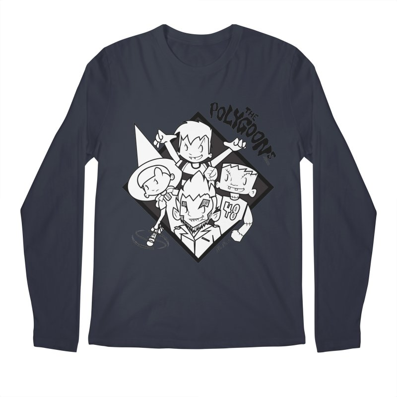 The Polygoons (Group) Men's Regular Longsleeve T-Shirt by The Polygoons' Shop