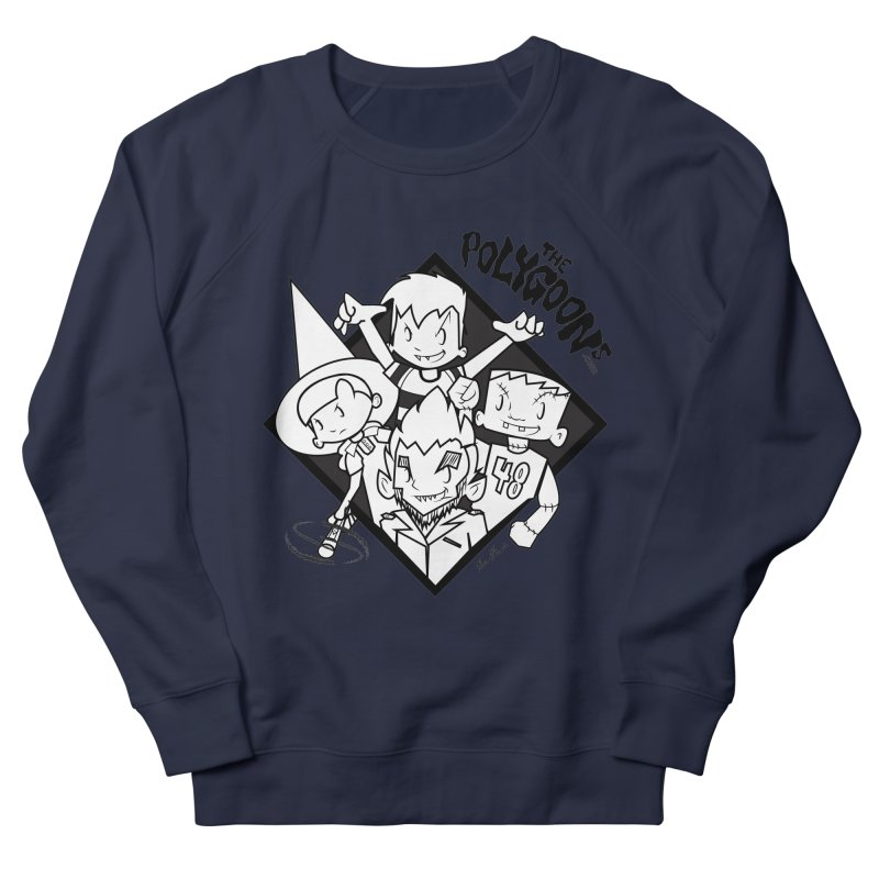 The Polygoons (Group) Women's French Terry Sweatshirt by The Polygoons' Shop