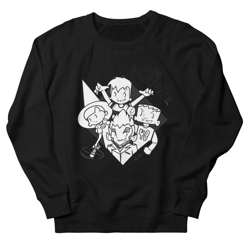 The Polygoons (Group) Men's French Terry Sweatshirt by The Polygoons' Shop