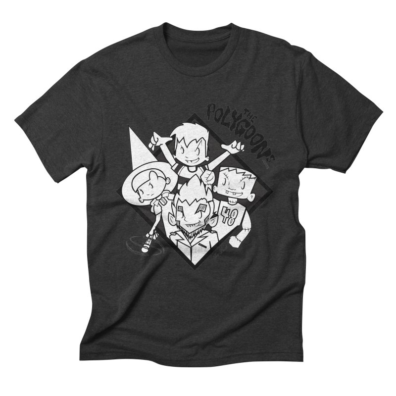 The Polygoons (Group) Men's Triblend T-Shirt by The Polygoons' Shop