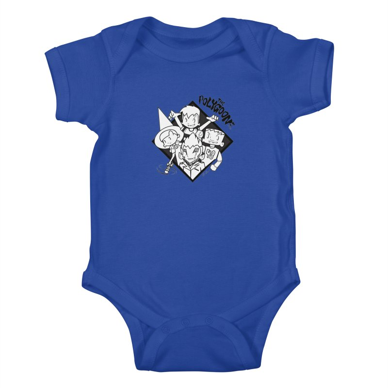 The Polygoons (Group) Kids Baby Bodysuit by The Polygoons' Shop