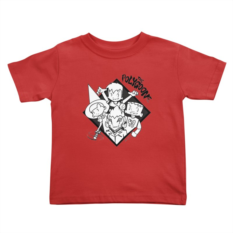 The Polygoons (Group) Kids Toddler T-Shirt by The Polygoons' Shop