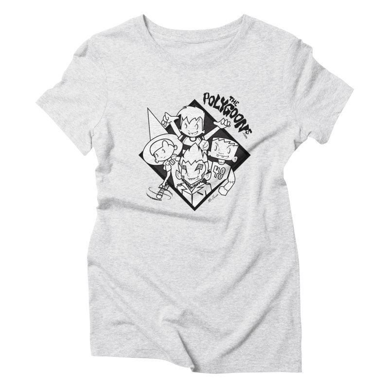 The Polygoons (Group) Women's T-Shirt by The Polygoons' Shop