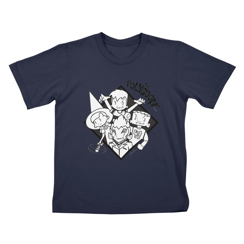 The Polygoons (Group) Kids T-Shirt by The Polygoons' Shop
