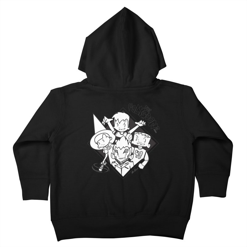 The Polygoons (Group) Kids Toddler Zip-Up Hoody by The Polygoons' Shop