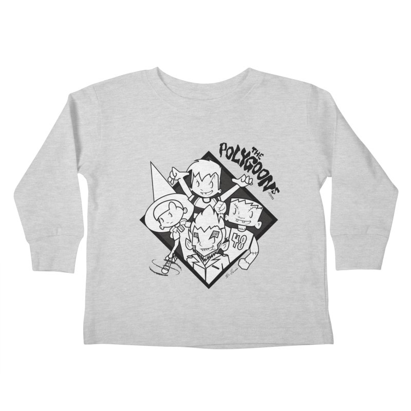 The Polygoons (Group) Kids Toddler Longsleeve T-Shirt by The Polygoons' Shop