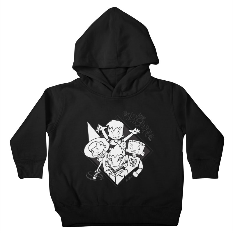 The Polygoons (Group) Kids Toddler Pullover Hoody by The Polygoons' Shop