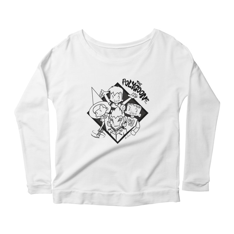 The Polygoons (Group) Women's Scoop Neck Longsleeve T-Shirt by The Polygoons' Shop