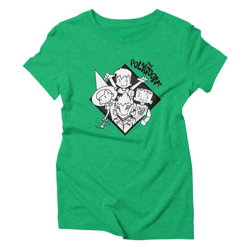 The Polygoons (Group) Women's Triblend T-Shirt by The Polygoons' Shop