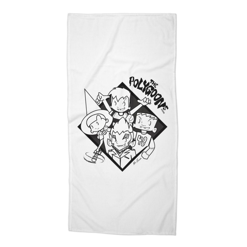 The Polygoons (Group) Accessories Beach Towel by The Polygoons' Shop