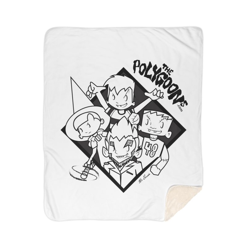 The Polygoons (Group) Home Sherpa Blanket Blanket by The Polygoons' Shop