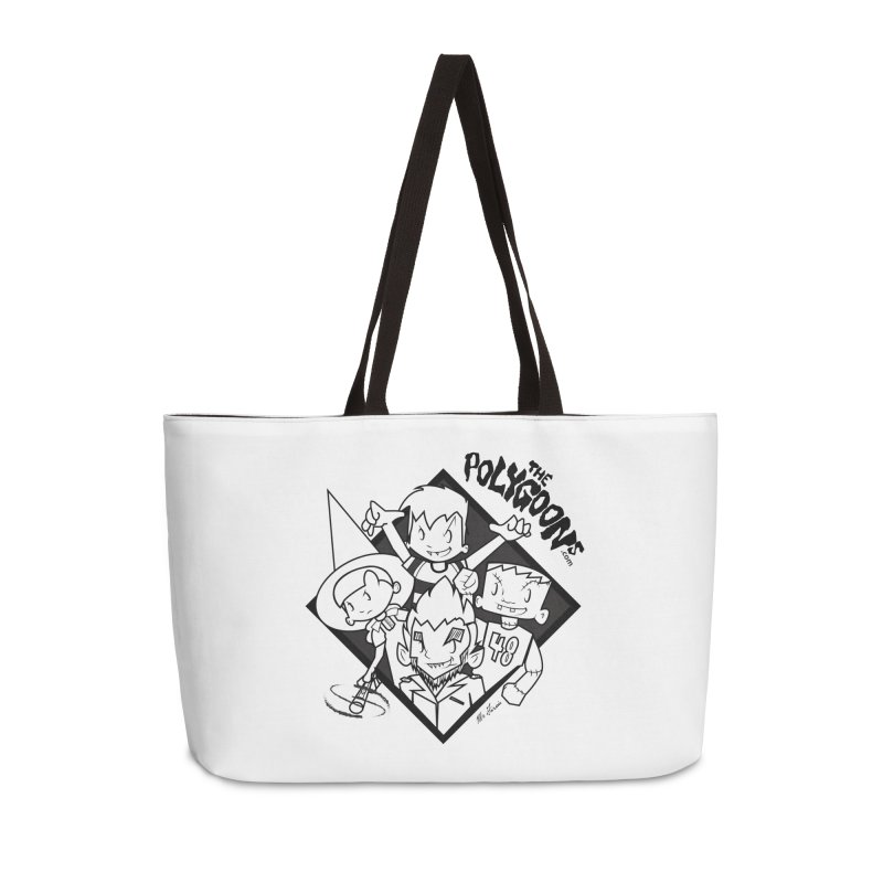 The Polygoons (Group) Accessories Weekender Bag Bag by The Polygoons' Shop