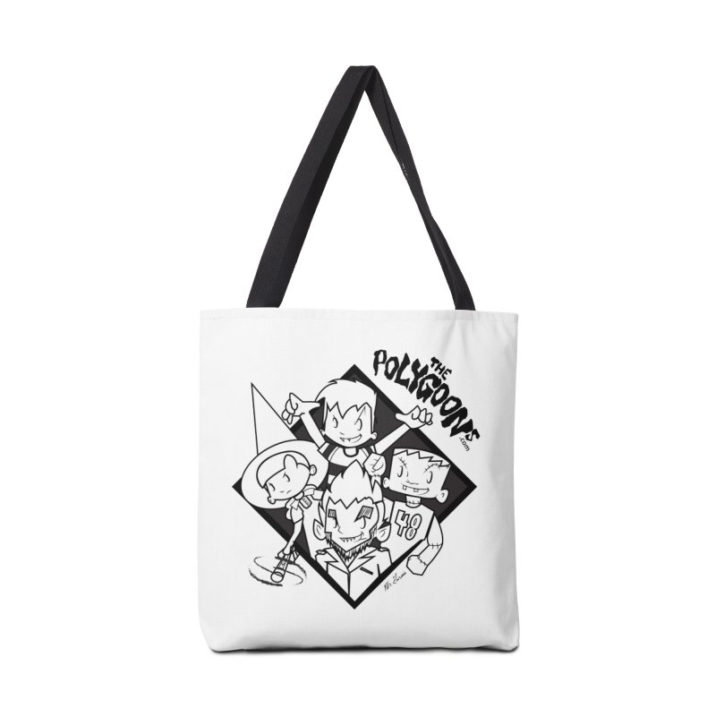 The Polygoons (Group) Accessories Tote Bag Bag by The Polygoons' Shop