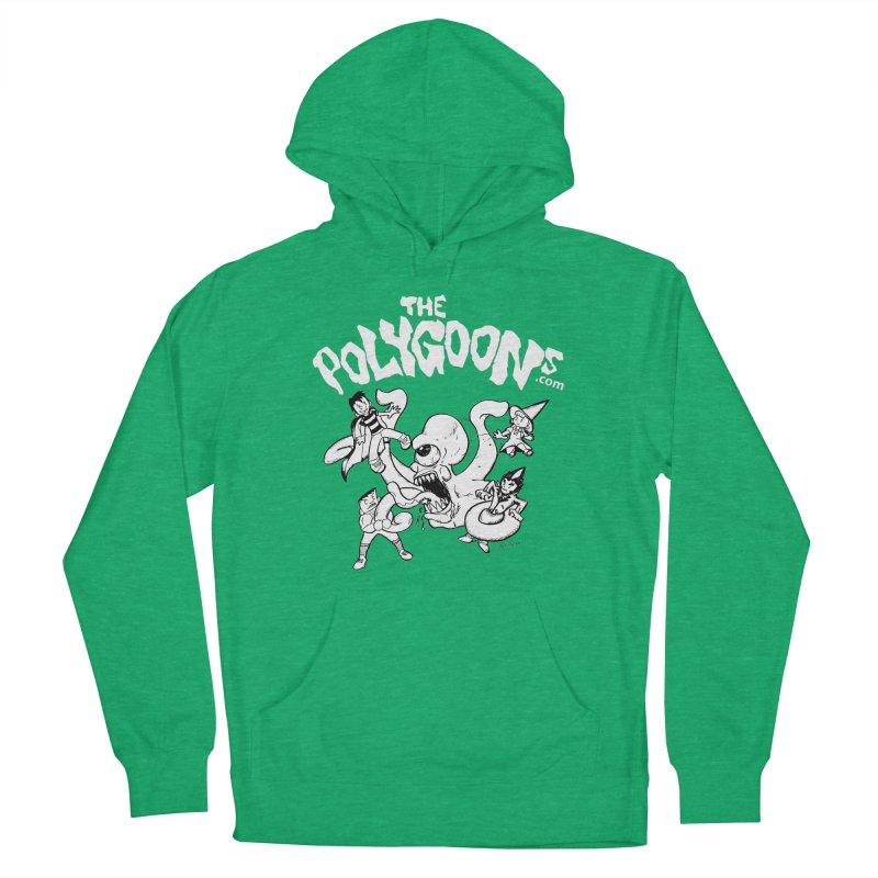 Polygoonsvs Mutoid (white letters) Men's Pullover Hoody by The Polygoons' Shop