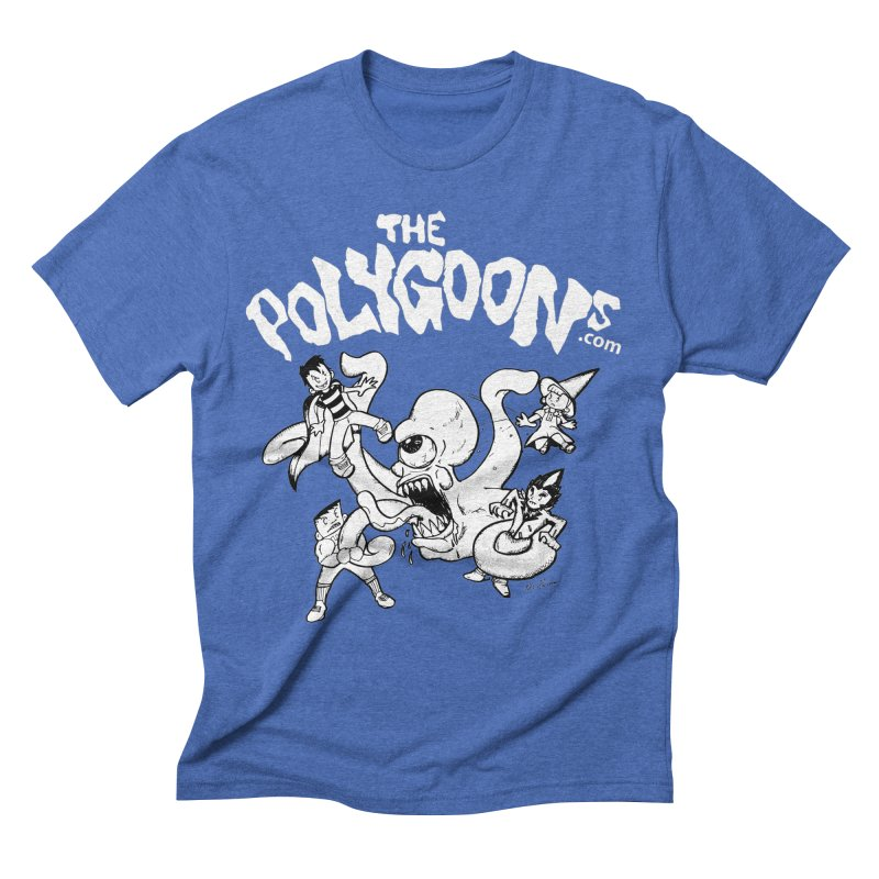 Polygoonsvs Mutoid (white letters) Men's Triblend T-Shirt by The Polygoons' Shop