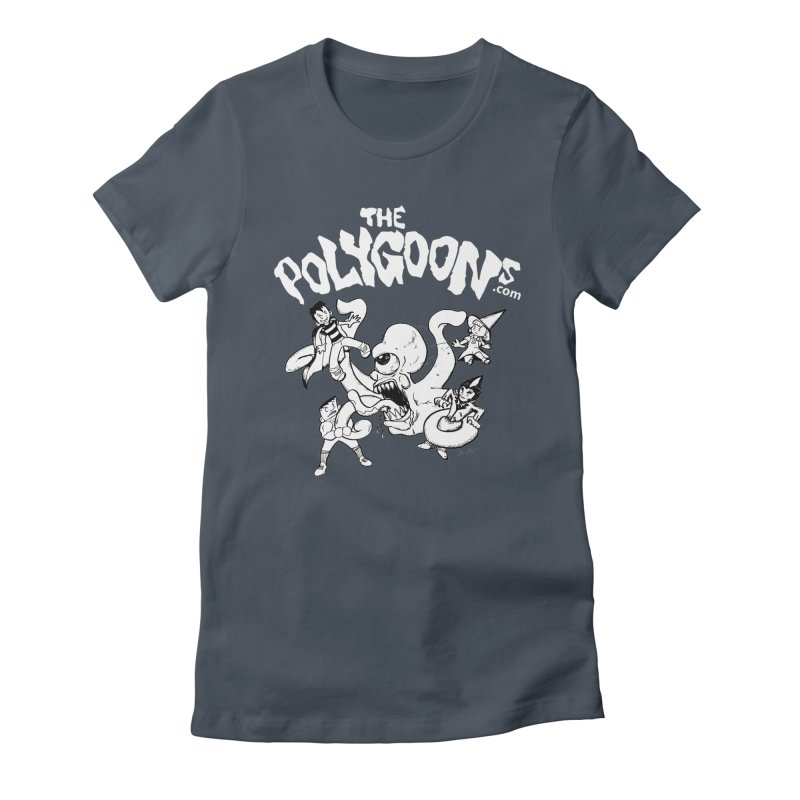 Polygoonsvs Mutoid (white letters) Women's T-Shirt by The Polygoons' Shop