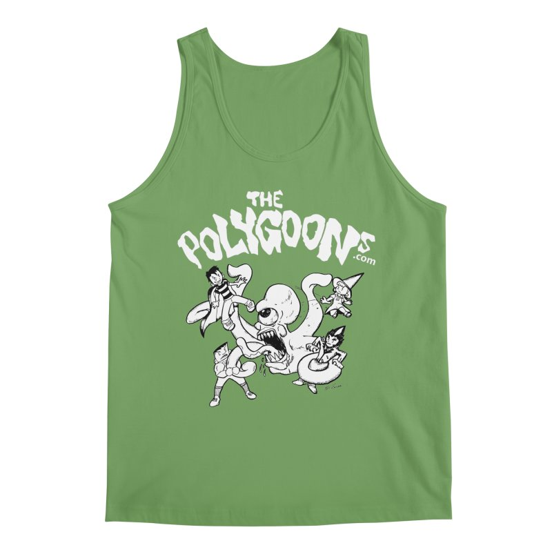 Polygoonsvs Mutoid (white letters) Men's Tank by The Polygoons' Shop