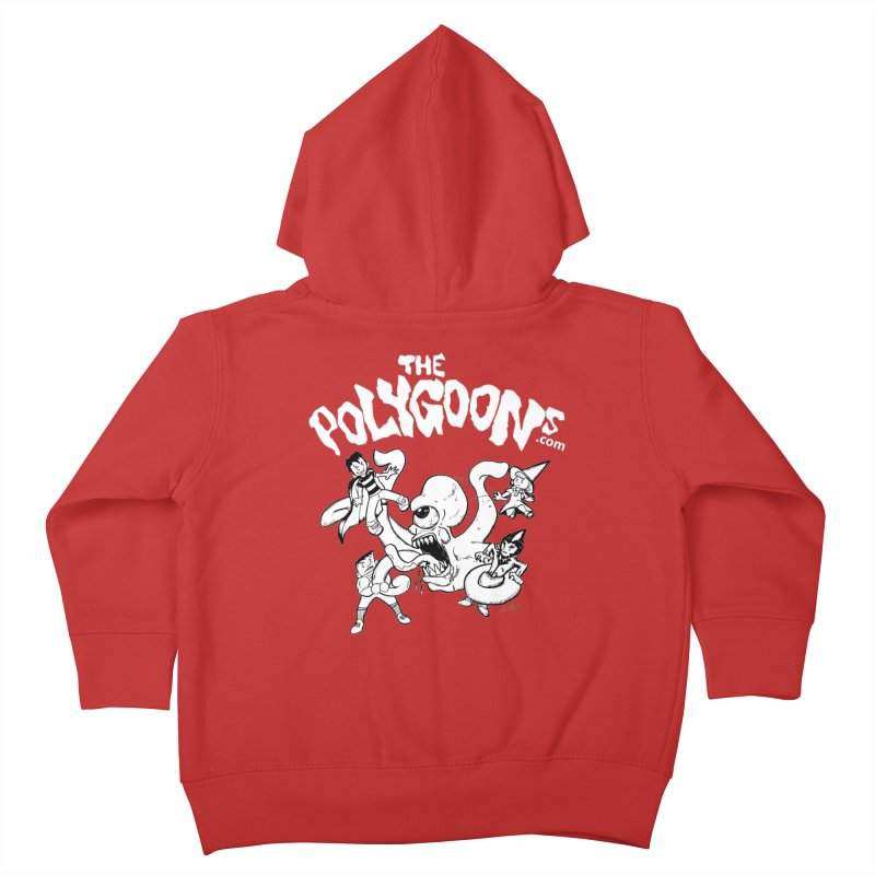 Polygoonsvs Mutoid (white letters) Kids Toddler Zip-Up Hoody by The Polygoons' Shop