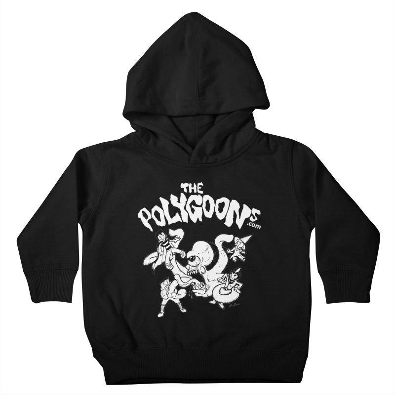 Polygoonsvs Mutoid (white letters) Kids Toddler Pullover Hoody by The Polygoons' Shop
