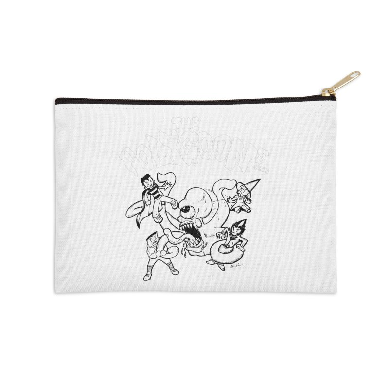 Polygoonsvs Mutoid (white letters) Accessories Zip Pouch by The Polygoons' Shop