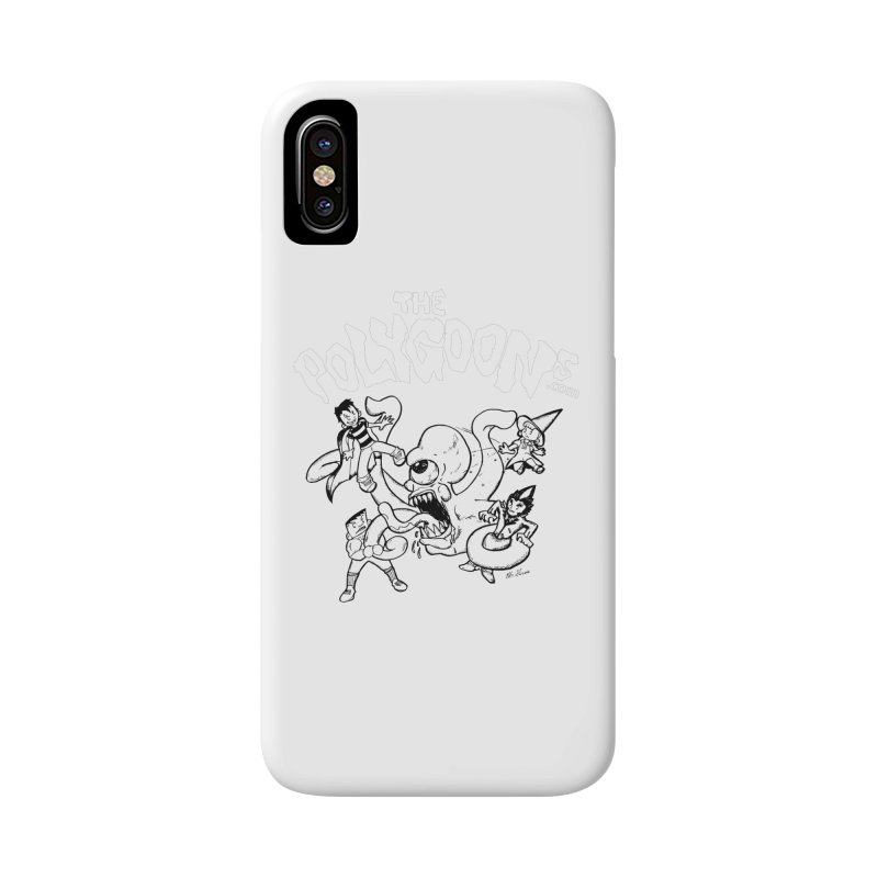 Polygoonsvs Mutoid (white letters) Accessories Phone Case by The Polygoons' Shop