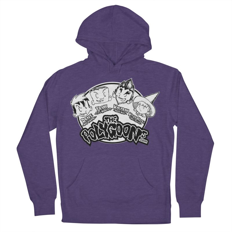 The Polygoons (Heads) Women's French Terry Pullover Hoody by The Polygoons' Shop