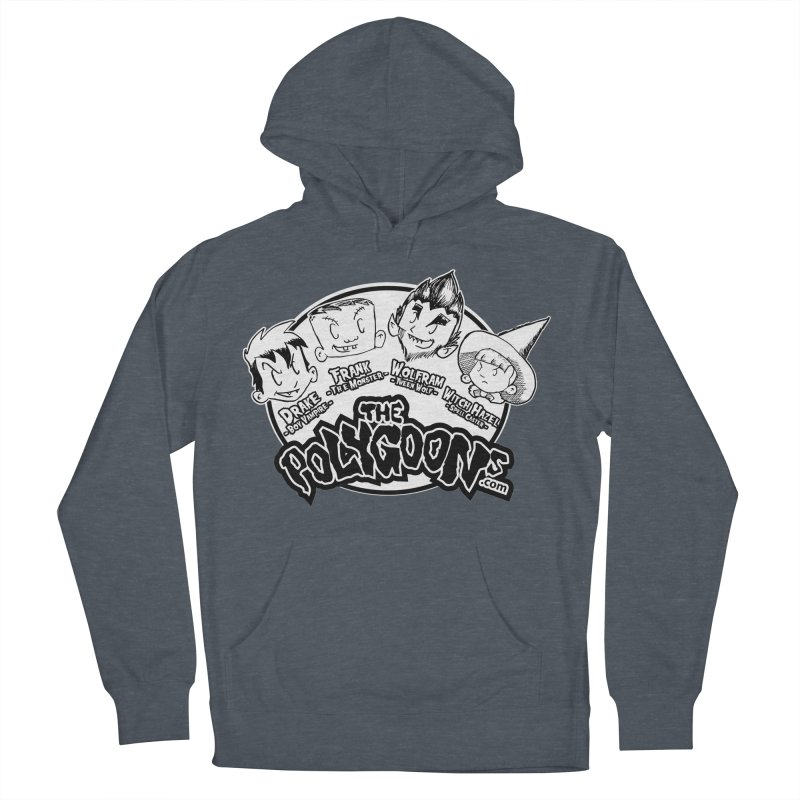 The Polygoons (Heads) Men's French Terry Pullover Hoody by The Polygoons' Shop