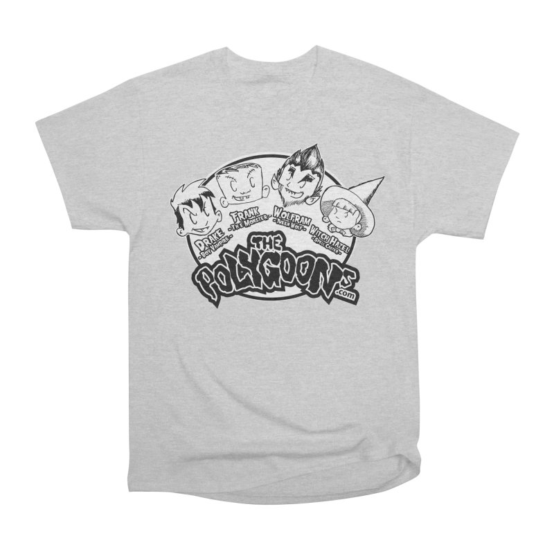 The Polygoons (Heads) Men's Heavyweight T-Shirt by The Polygoons' Shop