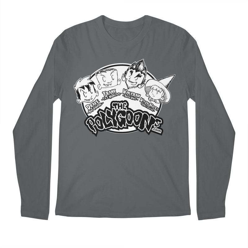 The Polygoons (Heads) Men's Longsleeve T-Shirt by The Polygoons' Shop