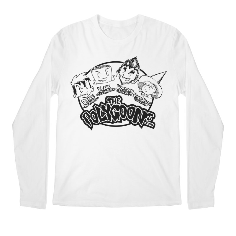 The Polygoons (Heads) Men's Regular Longsleeve T-Shirt by The Polygoons' Shop