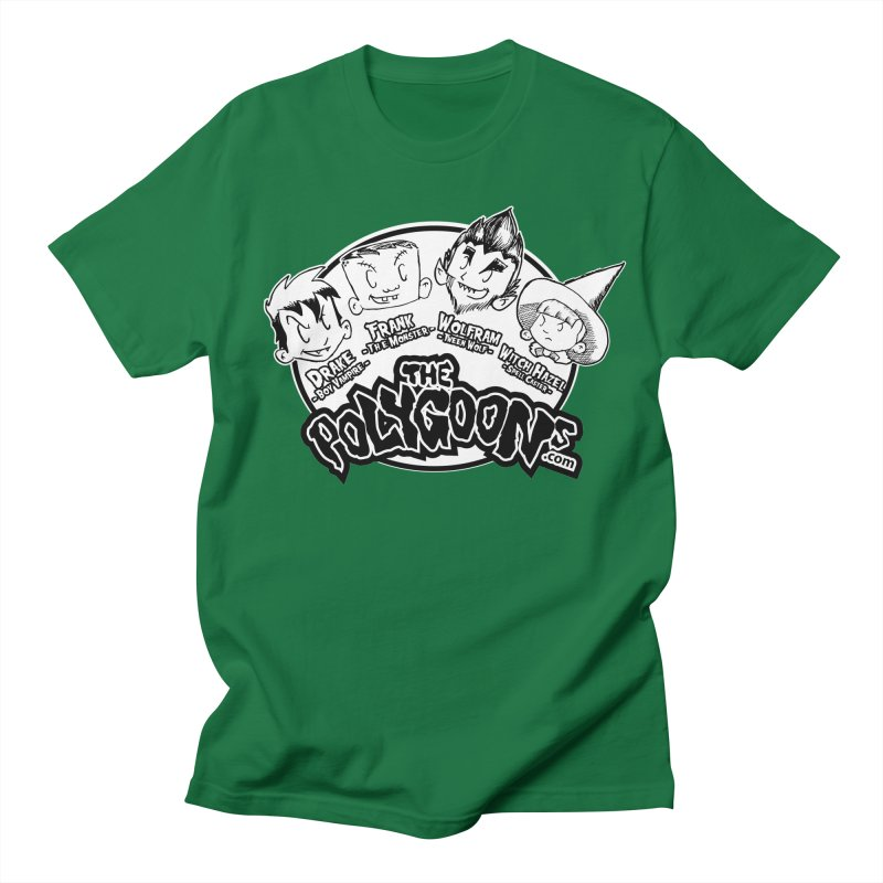 The Polygoons (Heads) Women's Regular Unisex T-Shirt by The Polygoons' Shop