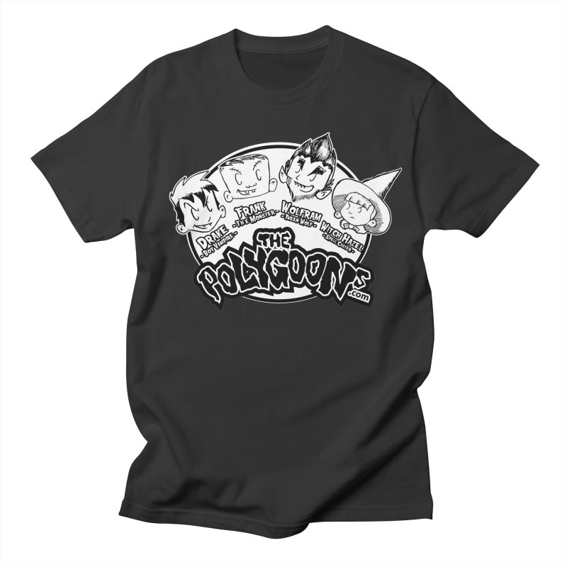 The Polygoons (Heads) Men's Regular T-Shirt by The Polygoons' Shop