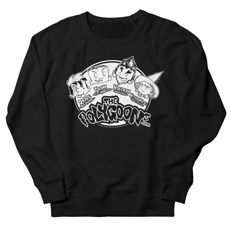 The Polygoons (Heads) Women's French Terry Sweatshirt by The Polygoons' Shop
