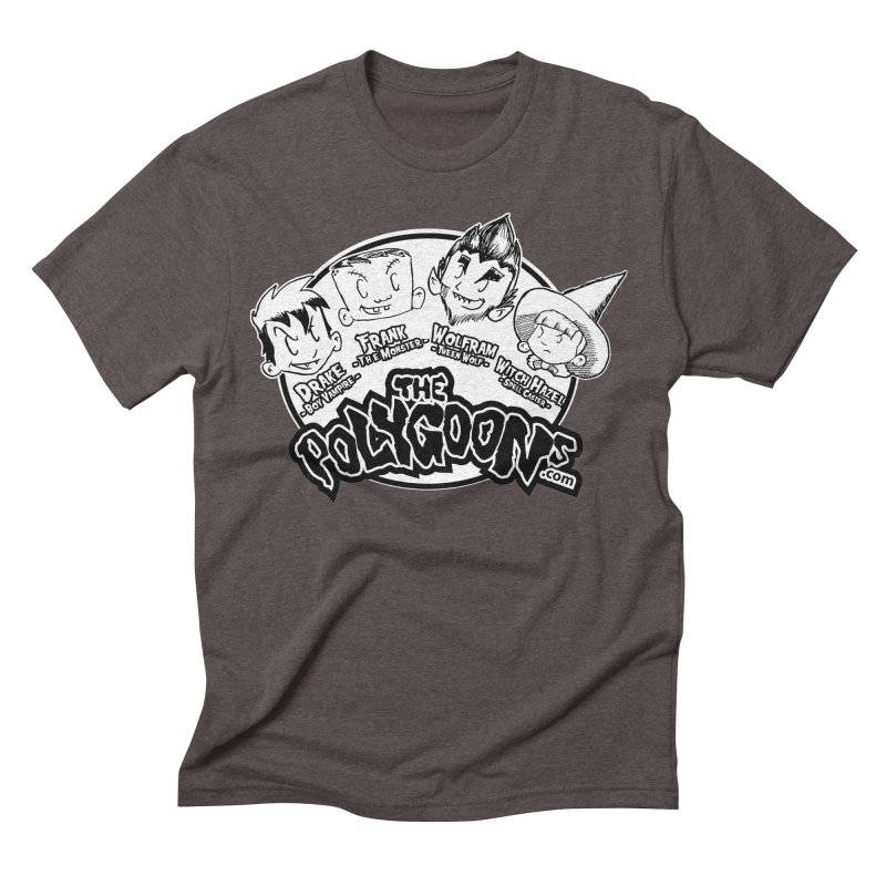 The Polygoons (Heads) Men's Triblend T-Shirt by The Polygoons' Shop