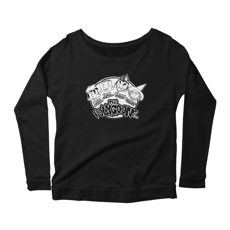 The Polygoons (Heads) Women's Scoop Neck Longsleeve T-Shirt by The Polygoons' Shop