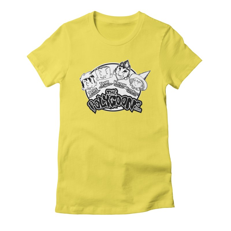 The Polygoons (Heads) Women's Fitted T-Shirt by The Polygoons' Shop