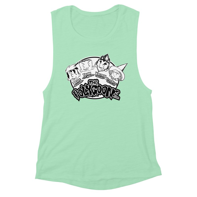 The Polygoons (Heads) Women's Muscle Tank by The Polygoons' Shop