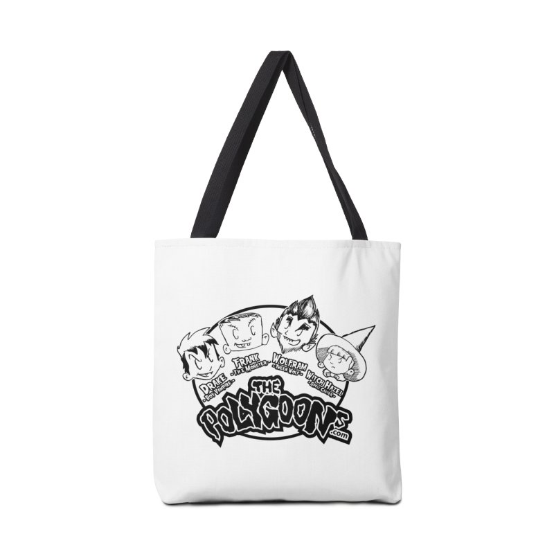 The Polygoons (Heads) in Tote Bag by The Polygoons' Shop